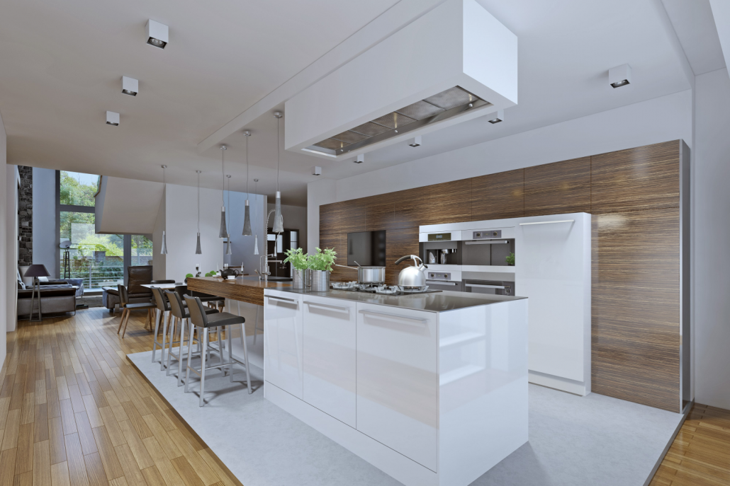 Kitchen in Hove by Empire Building Solutions